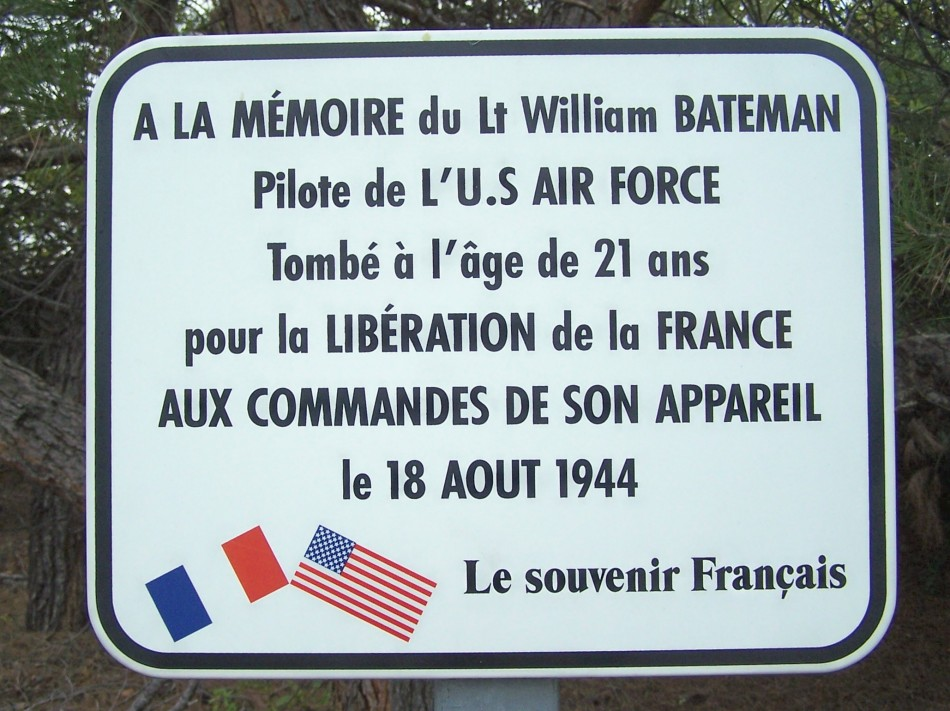 Sign Lt William Bateman Sainte-Tulle Alpes-de-Haute-Provence (04)