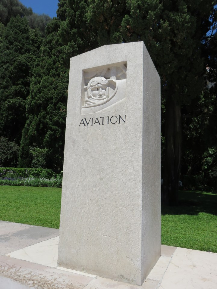Monument Aviation sur le monument aux Morts Nice Alpes-Maritimes (06)