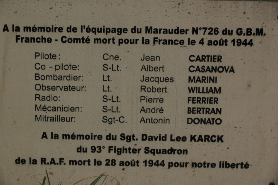 Memorial Sergeant  David Lee Karck Valdeblore Alpes-Maritimes (06)