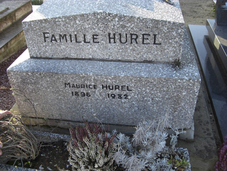 Tombe Maurice Hurel Deauville Calvados (14)