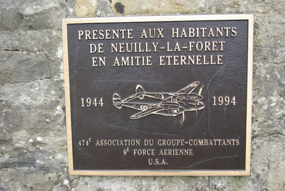 St鑜e 474th Fighter Group Isigny-sur-Mer Calvados (14)
