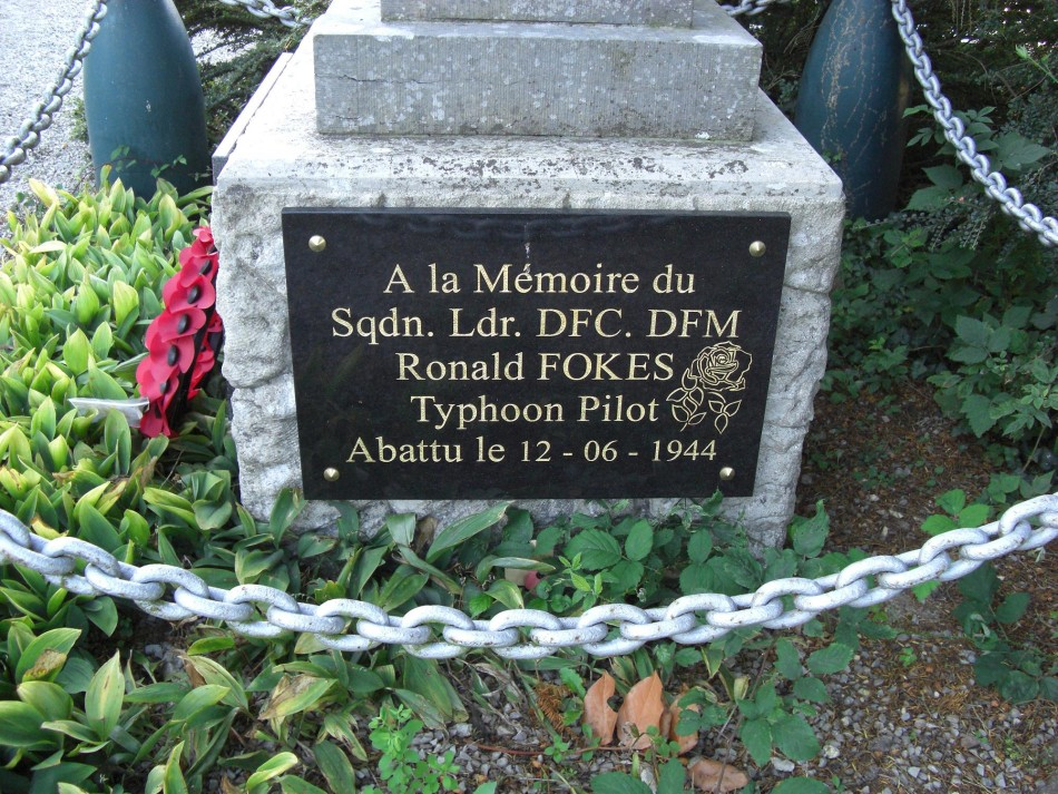 St鑜e Sqn Ldr Ronald Henry  FOKES Soulangy Calvados (14)