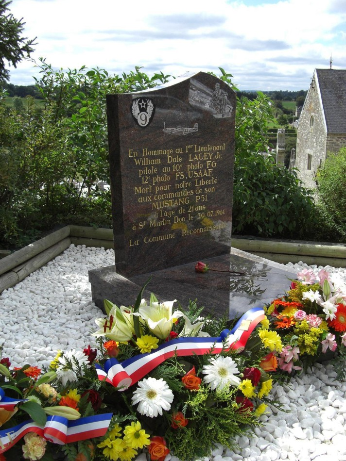 Memorial William Lacey Souleuvre en Bocage Calvados (14)