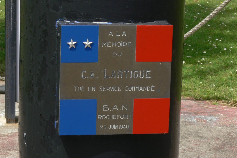 Memorial CA Lartigue Rochefort Charente-Maritime (17)