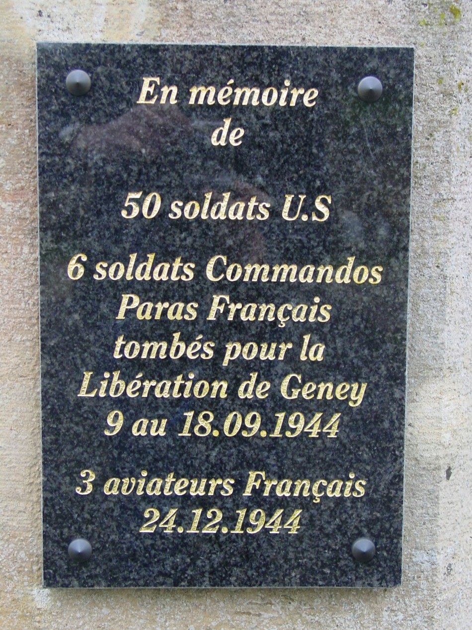 Plaque B-26 Marauder n° 79 Geney Doubs (25)