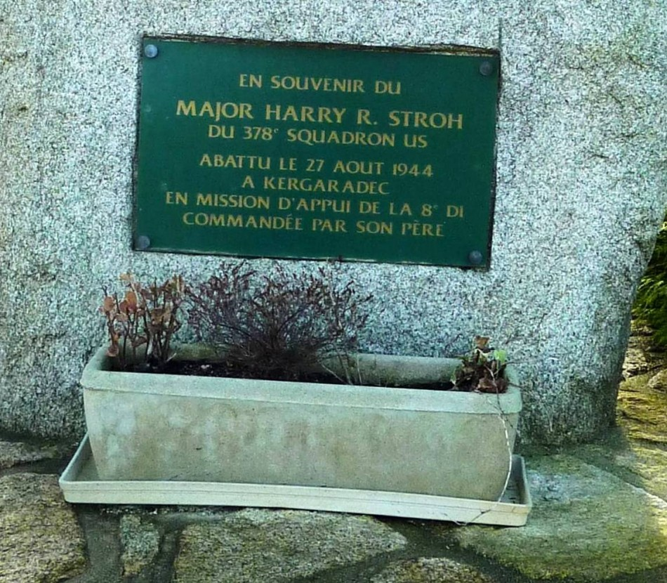Memorial Major Harry R. STROH (Tramway) Gouesnou Finist鑢e (29)
