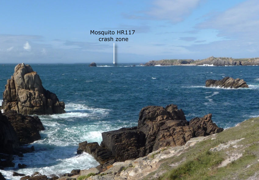Plaque Mosquito HR117 Ouessant Finist鑢e (29)