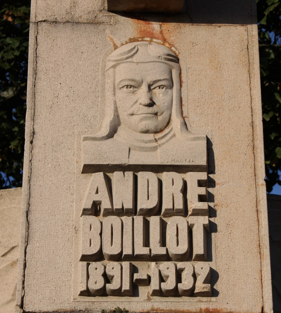 Memorial André Boillot Montgivray Indre (36)