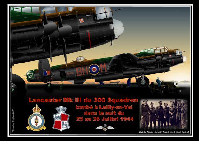LAILLY EN VAL - Stèle du Lancaster PB252 6lancaster_lailly-en-val
