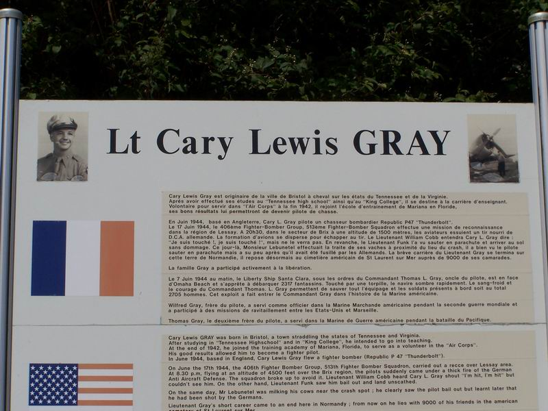 St鑜e Lt Cary Lewis Gray Brix Manche (50)