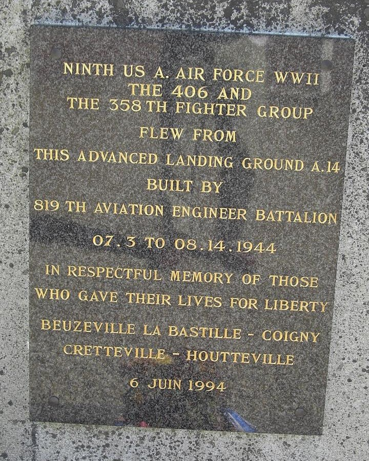 Memorial Advanced Landing Ground A-14 Picauville Manche (50)