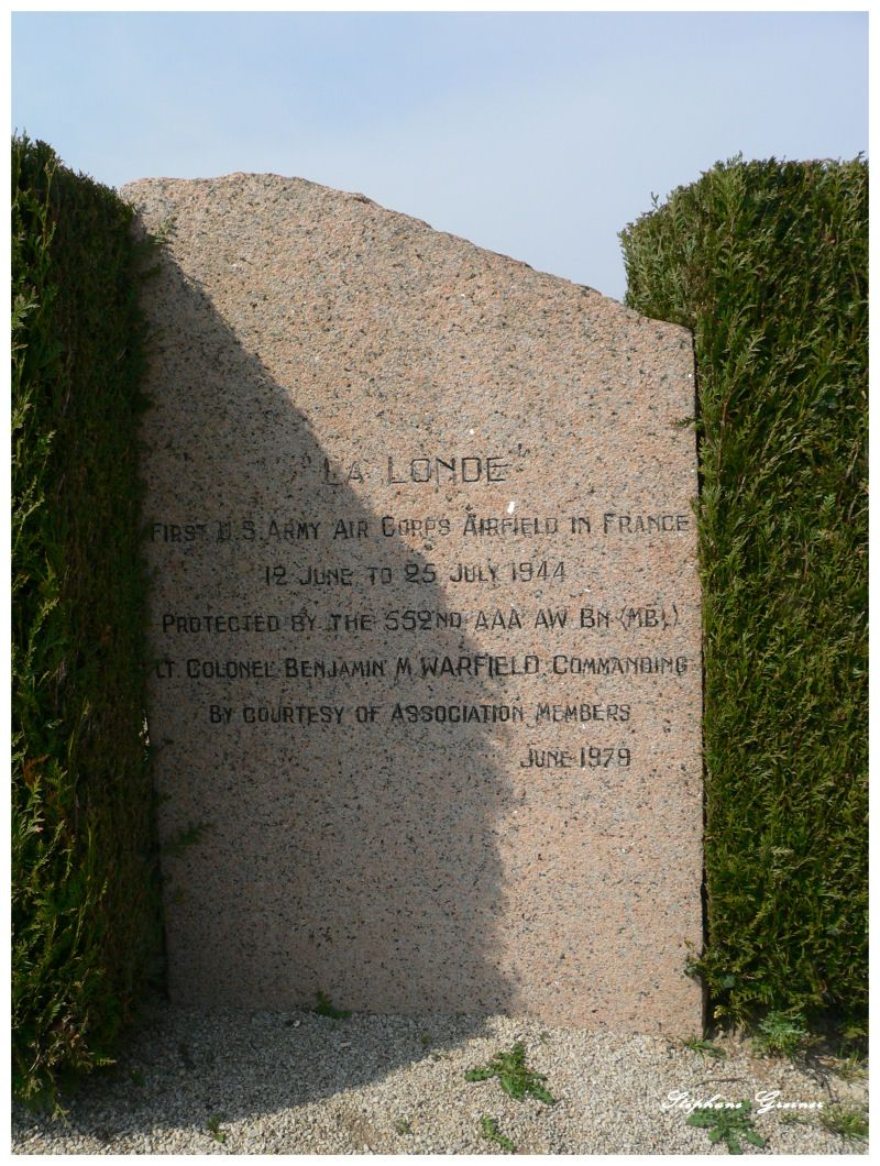 Memorial La Londe - First US Army Air Corps airfield in France Sainte-M鑢e-蒰lise Manche (50)