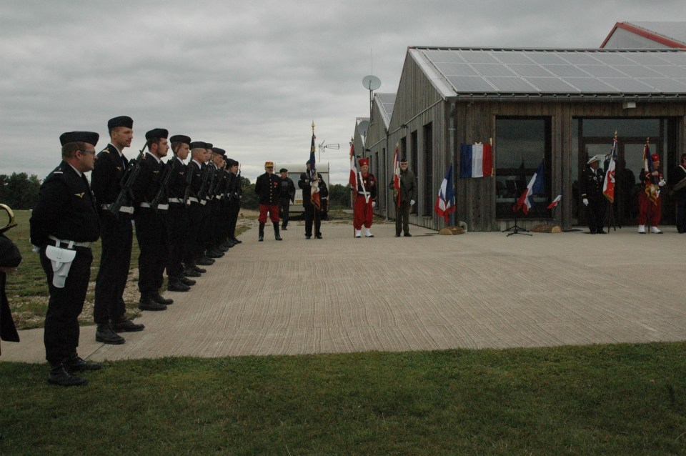 Plate Premi鑢e escadrille sur le camp d'aviation, MF29 Maizi鑢es Meurthe-et-Moselle (54), Pont Saint-Vincent airfield