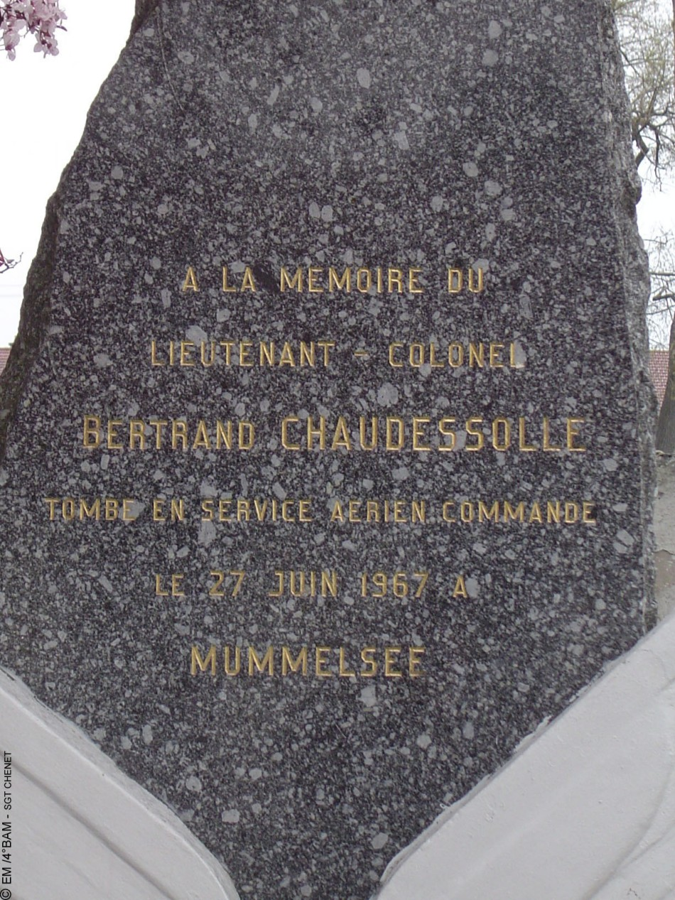 Memorial LCL Bertrand Chaudesolle Essey-lès-Nancy Meurthe-et-Moselle (54), Nancy Essey airfield