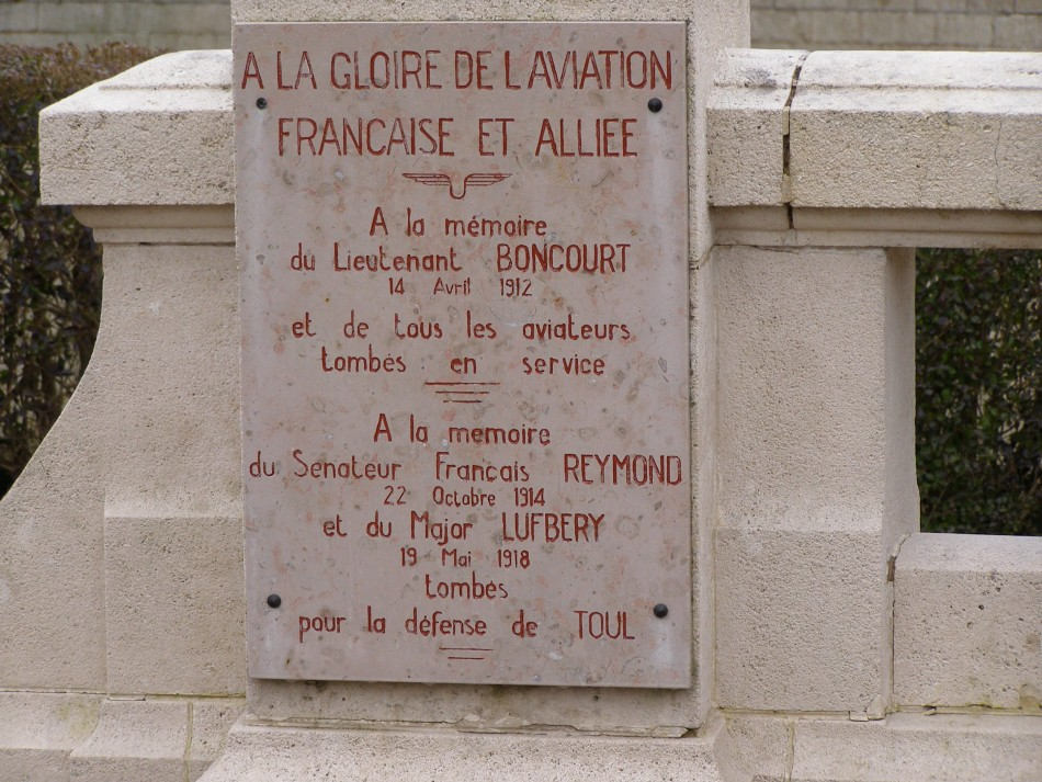 Memorial To the glory of French and Allied aviation Toul Meurthe-et-Moselle (54)