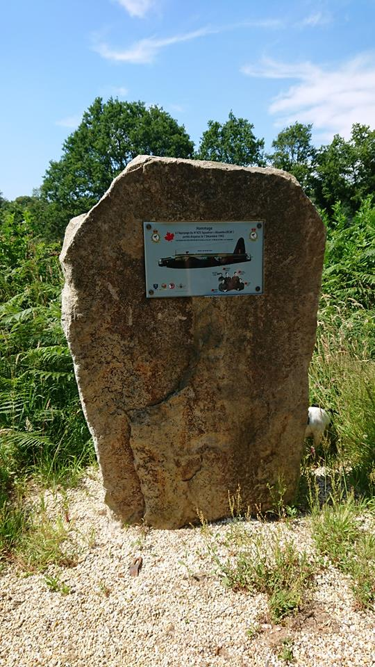 Memorial Wellington BJ657 Langonnet Morbihan (56)