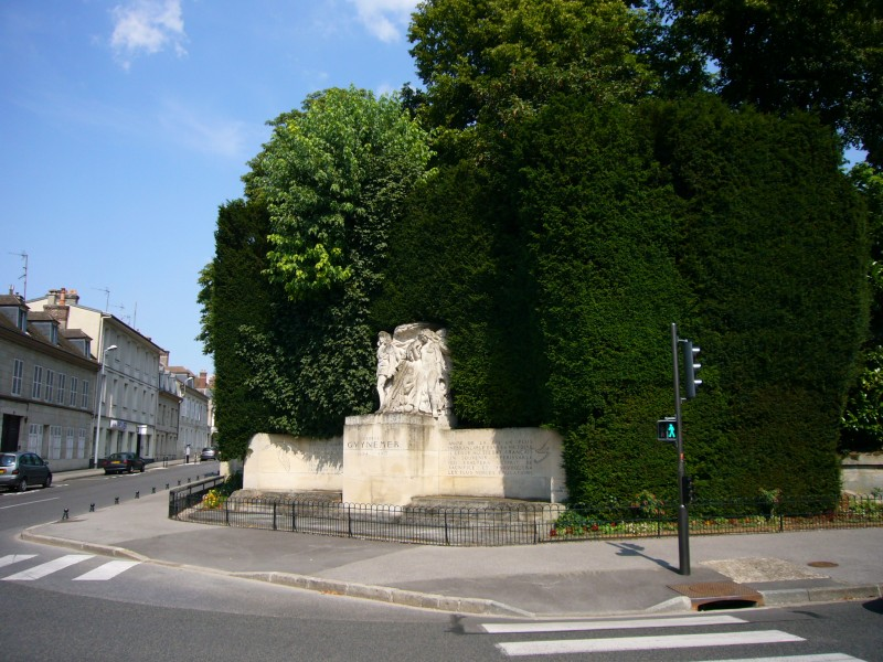 Monument Georges Guynemer Compi鑗ne Oise (60)