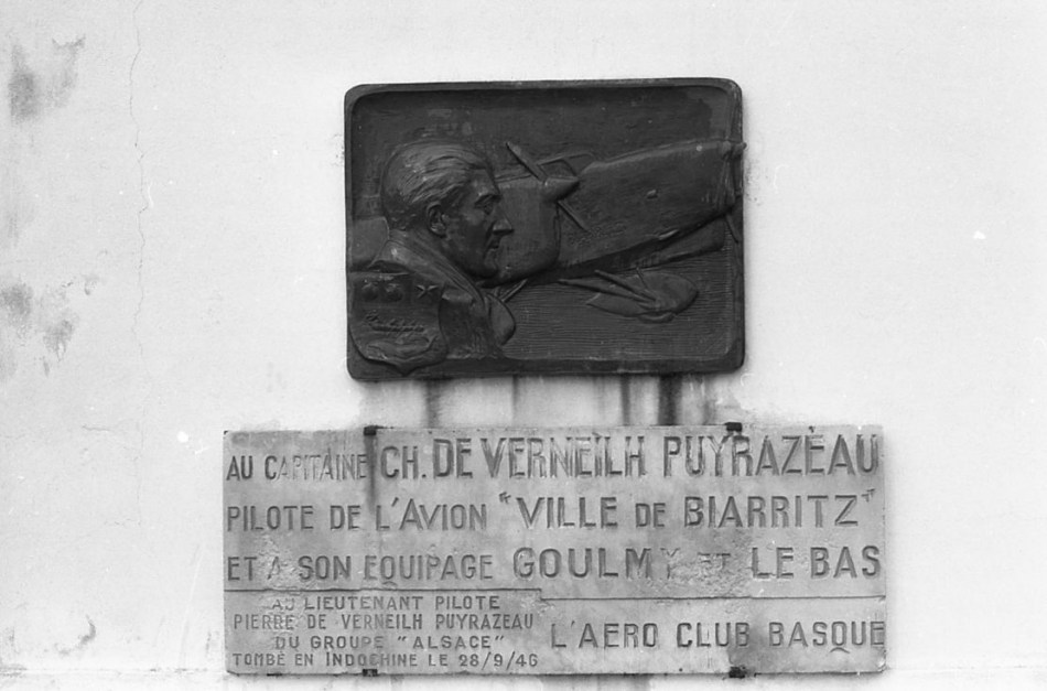 Plate Charles et Pierre de Verneilh Puyrazeau Anglet Pyr閚閑s-Atlantiques (64), Biarritz Bayonne Anglet airfield