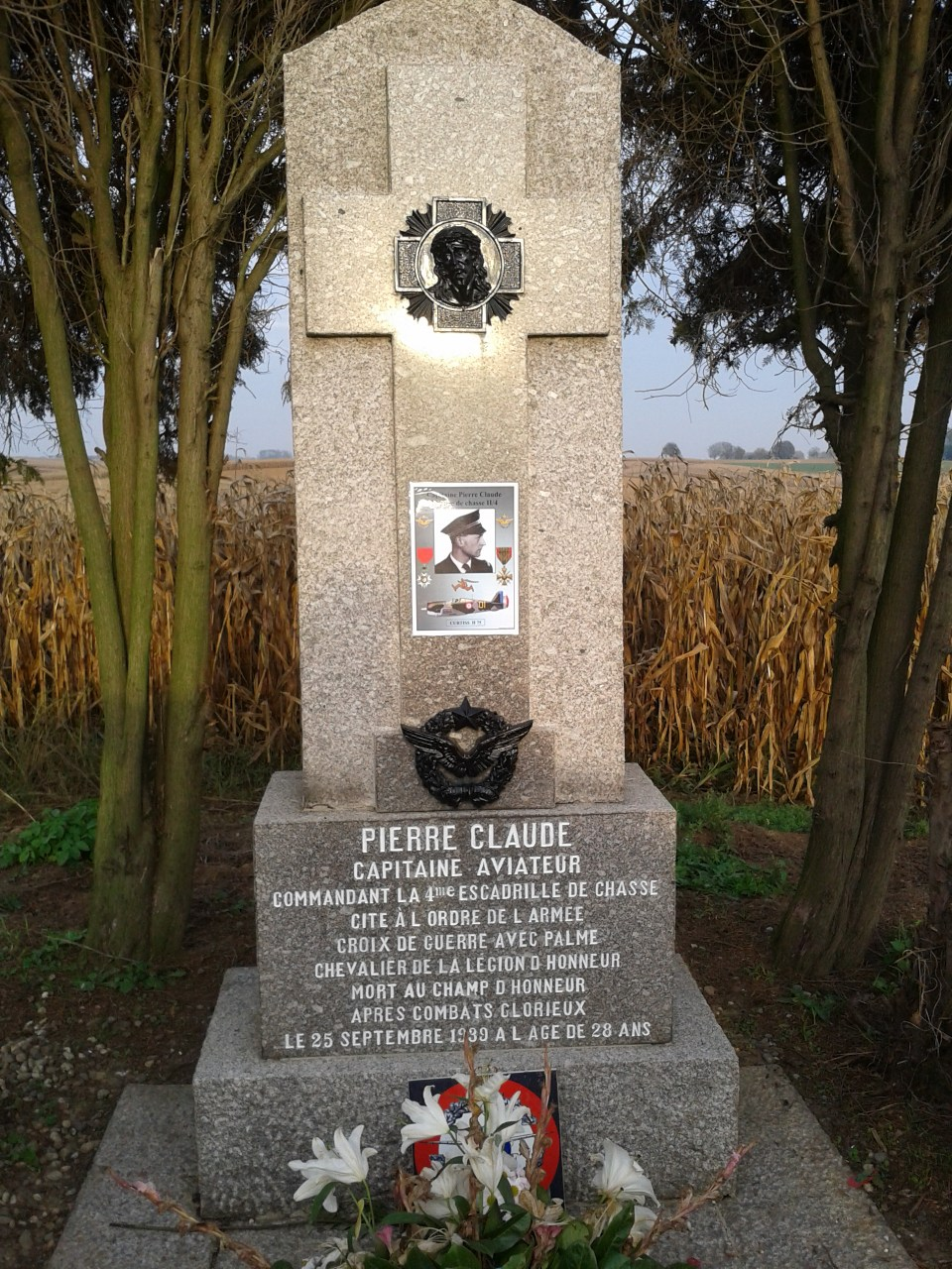 Memorial Capitaine Pierre Claude Wintzenbach Bas-Rhin (67)