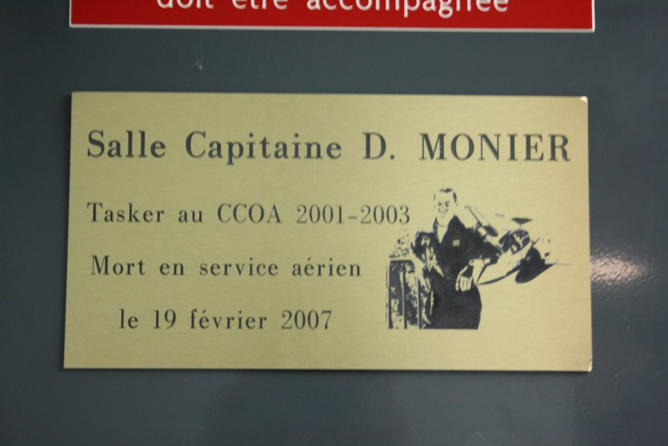 Plate Capitaine Denis Monier Mirage 2000 Poleymieux-au-Mont-d'Or Rhône (69)