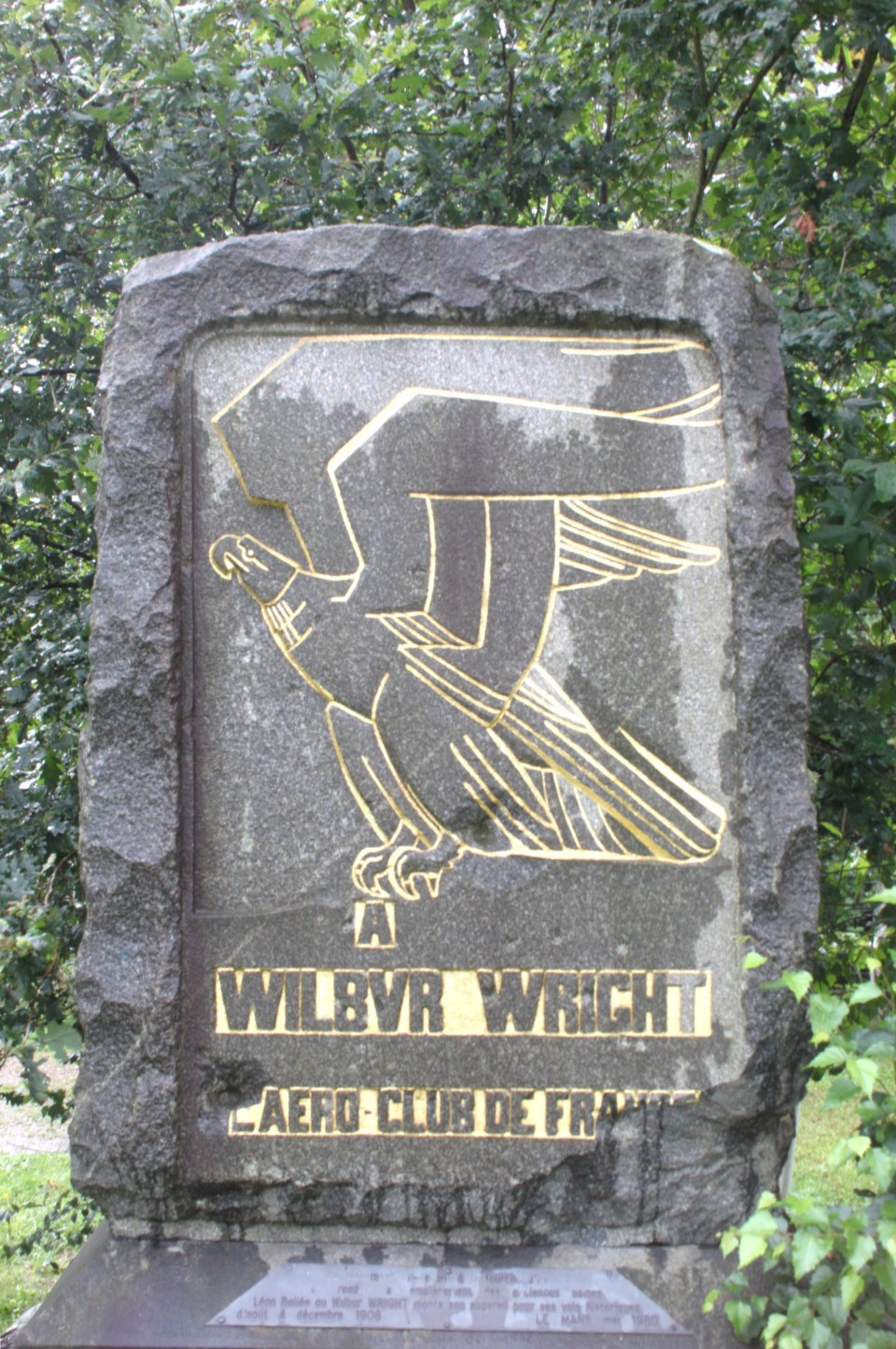 Memorial Wilbur Wright - Auvours Champagné Sarthe (72)