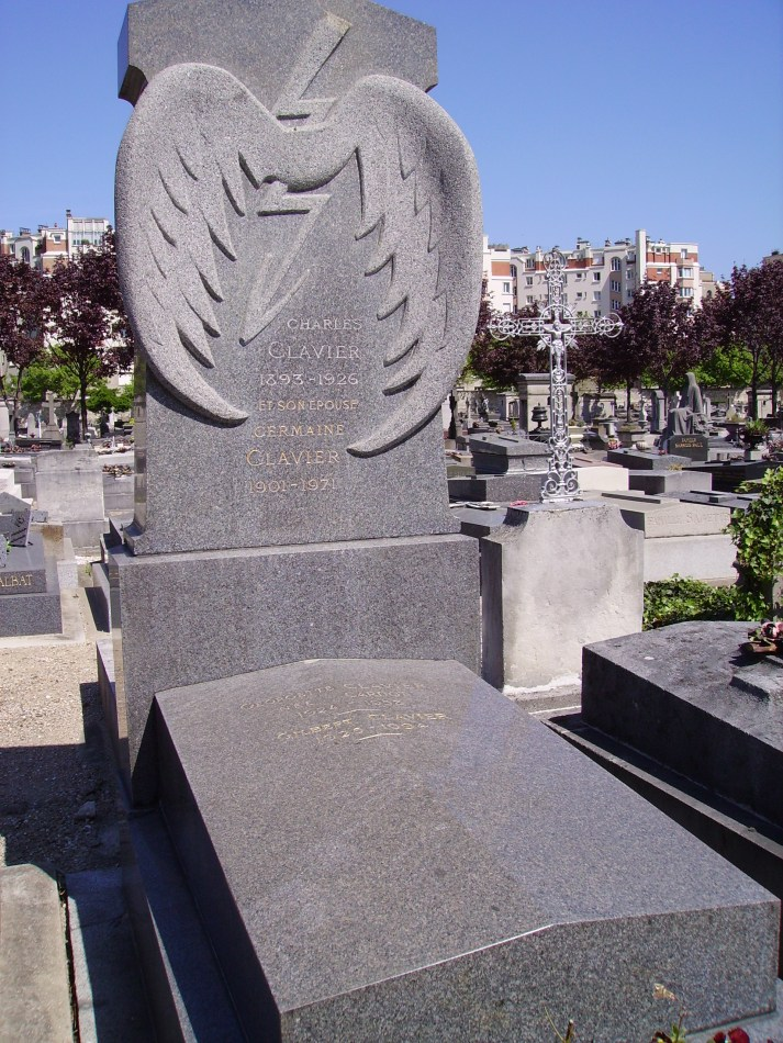 Grave Raymond Orteig Paris 14ème (Cim. Montrouge) Paris (75)