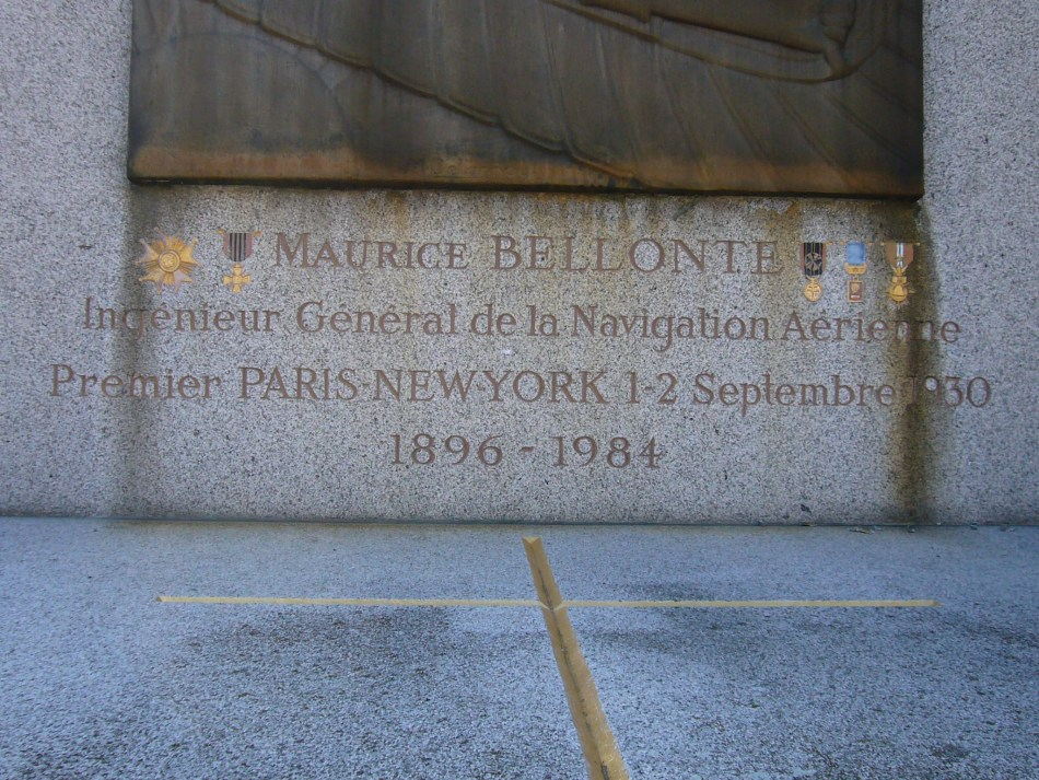 Tombe Maurice Bellonte Paris 16�me (Cim. Passy) Paris (75)
