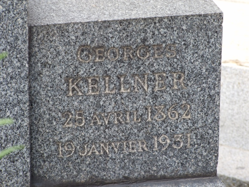 Tombe Georges Kellner Paris 16ème (Cim. Passy) Paris (75)