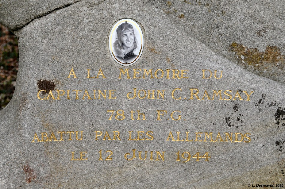 St鑜e Capitaine John C Ramsay Fontaine-le-Port Seine-et-Marne (77)