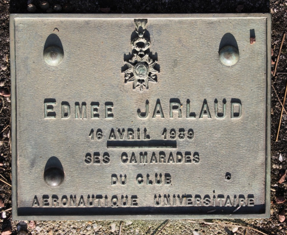 Plate Edm閑 Jarlaud Thiverval-Grignon Yvelines (78), Beynes Thiverval airfield