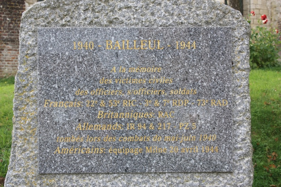 Memorial B-17G  42-9737 Bailleul Somme (80)