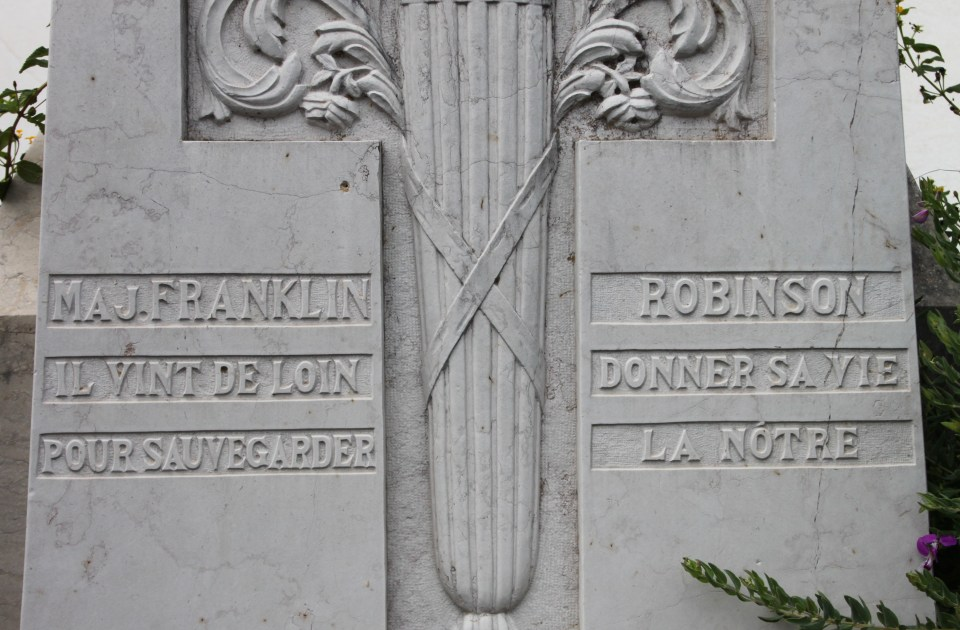 Memorial Major Franklin Louis Robinson Six-Fours-les-Plages Var (83)