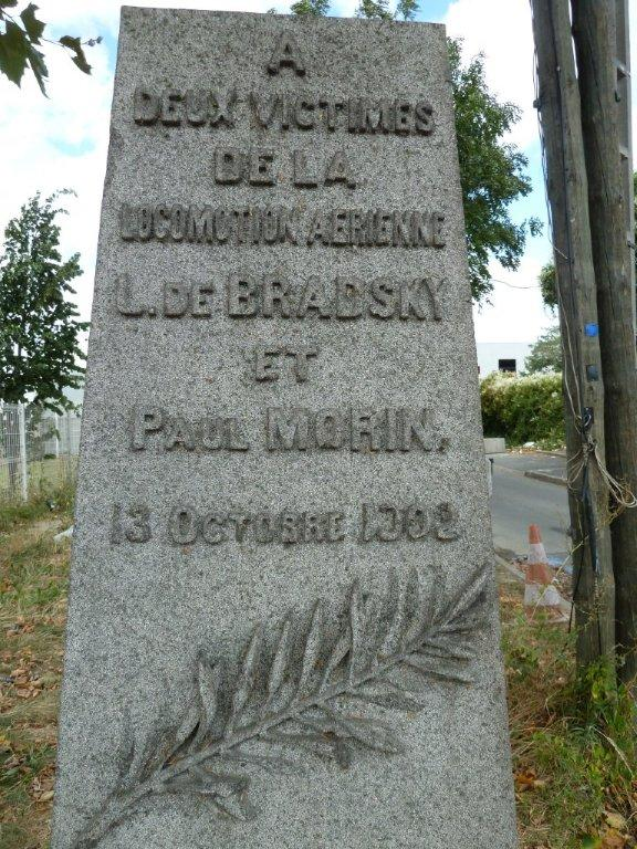 Memorial L de Bradsky - Paul Morin Stains Seine-Saint-Denis (93)