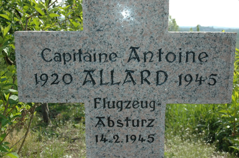 St鑜e Capitaine Antoine ALLARD - Groupe Chasse 1/4 Ottersweier