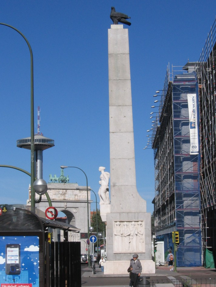 Monument Plus Ultra Madrid