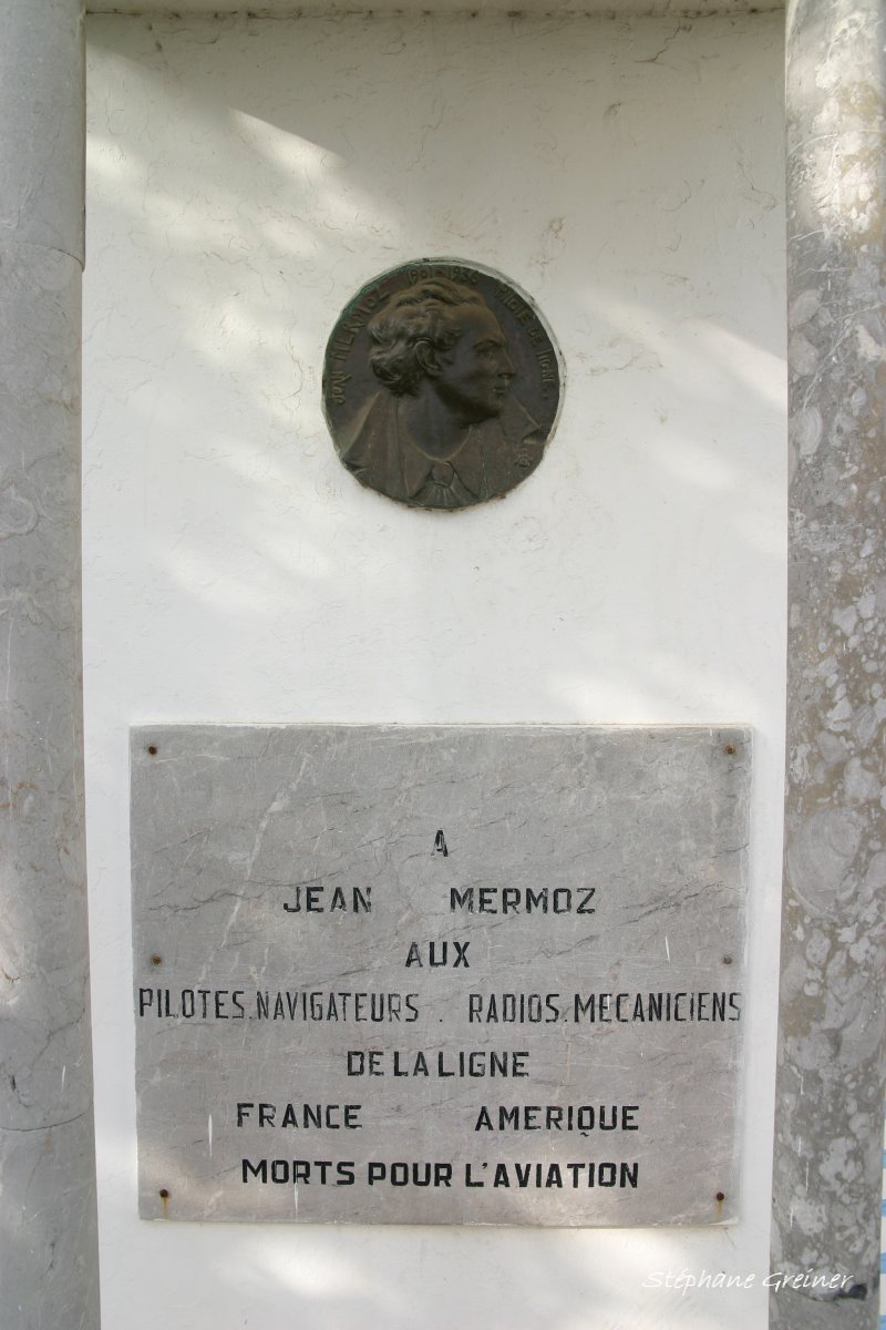 Memorial Mermoz ligne France-Am閞ique Casablanca , Casablanca Anfa airfield